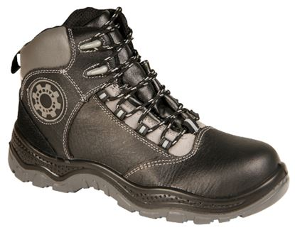 Picture of Black Composite Safety Trainer Boot With Midsole
