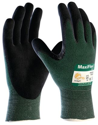 Picture of MaxiFlex Cut 3 (Green) Palm Coated Glove (12/72)