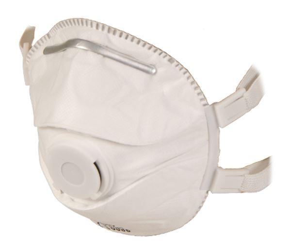 Picture of FFP3 Disposable Cup Shape Respirator with Valve
