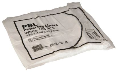 Picture of Pedal Bin Liners - Light Duty - 279/430 x 457mm
