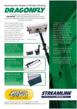 Picture of Dragonfly MK3 Int. Window Cleaning Kit (No Pole)