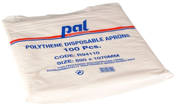 Picture of Disposable Aprons - Flat Packed