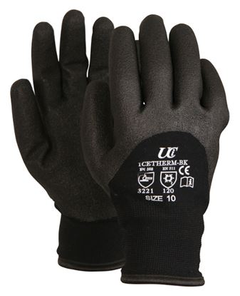 Picture of Icetherm BK Thermal Gloves With Foamed PVC Coating