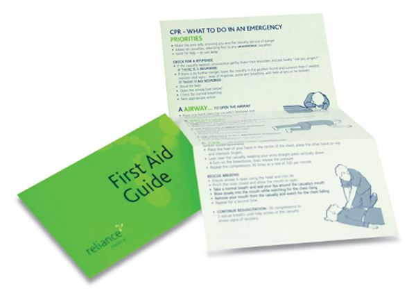 Picture of First Aid Guidance Notes