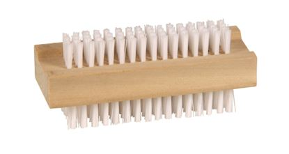 Picture of Wooden Double Sided Nail Brush