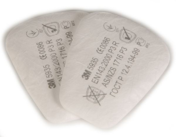 Picture of 5935 FFP3 Particulate Pad Filter for 501 Retainer