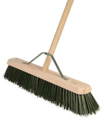 "Picture of Contract Medium 24"" Platform Broom C/w Handle"