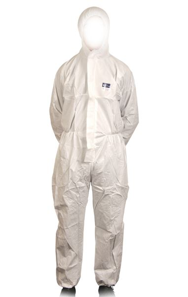 Picture of CV19 Micromax Type 5 & 6 PE Coated Disp. Coverall