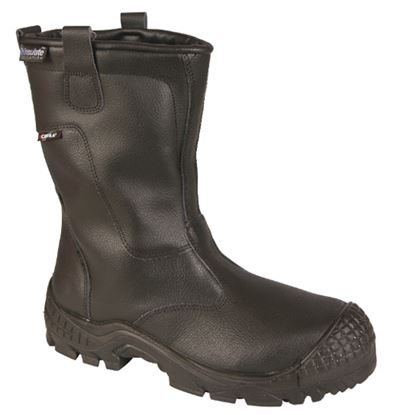 Picture of Fur Lined Safety Rigger Boot, Midsole & Scuff Cap