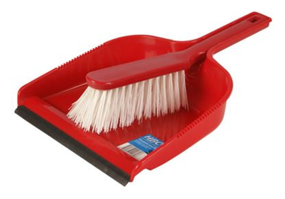 Picture of Dustpan & Brush Set Stiff