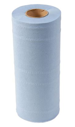 Picture of Hygiene 2 Ply Roll - Blue