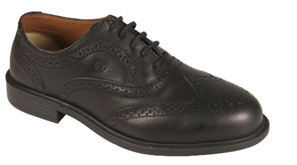 Picture of Luxury Safety Brogue Shoe With Midsole