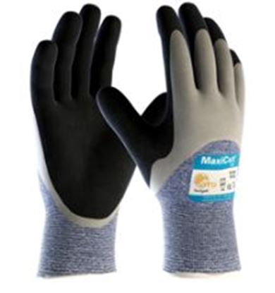 Picture of MaxiCut Oil Grip ¾ Coated Knitwrist Cut 5 Glove