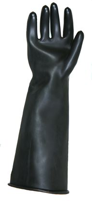 "Picture of Flexigum 18"" Chemical Resistant Gauntlet EN374-3"