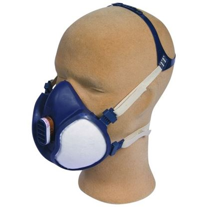 Picture of 3M ABE1P3D Disposable Vapour/Particle Respirator