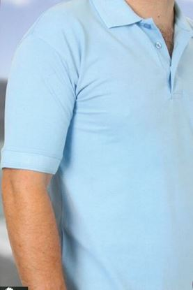 Picture of Deluxe Polycotton Heavyweight Polo Shirt
