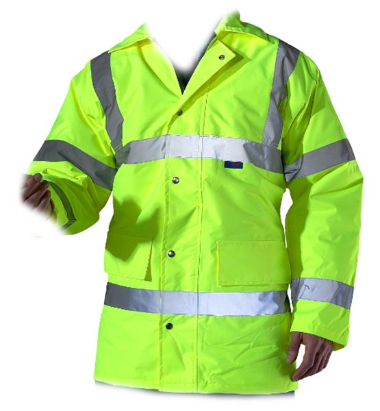 Picture of Hi-Viz Waterproof Padded Jacket