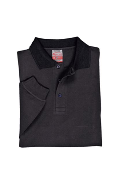 Picture of Flame Retardent Anti Static Long Sleeve Polo Shirt