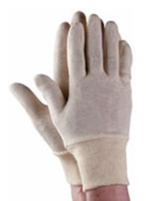 Picture of Economical Mens Cotton Stockinette Knitwrist Glove
