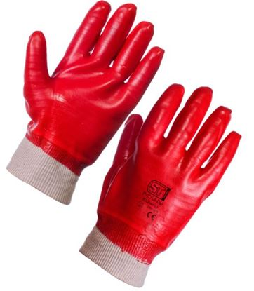 Picture of PVC Knit Wrist Glove  12/120