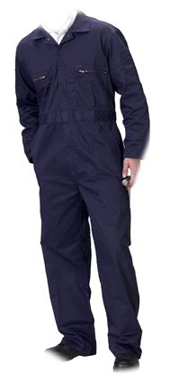 Picture of Superclick Zip Front Polycotton Boilersuit