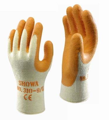 Picture of Showa Grip Orange Glove