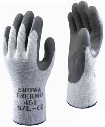 Picture of Showa Thermo Latex Palm Coat Thermal Glove 10/120