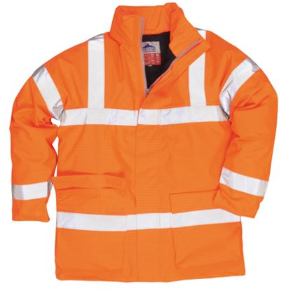 Picture of Hi-Viz Flame Retardant & Antistatic Jacket