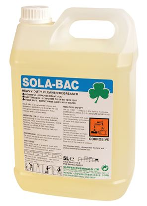 Picture of Sola-Bac Heavy Duty Bactericidal Cleaner