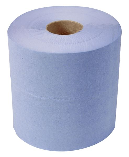 Picture of Standard 1 Ply Centre Feed Rolls - Blue