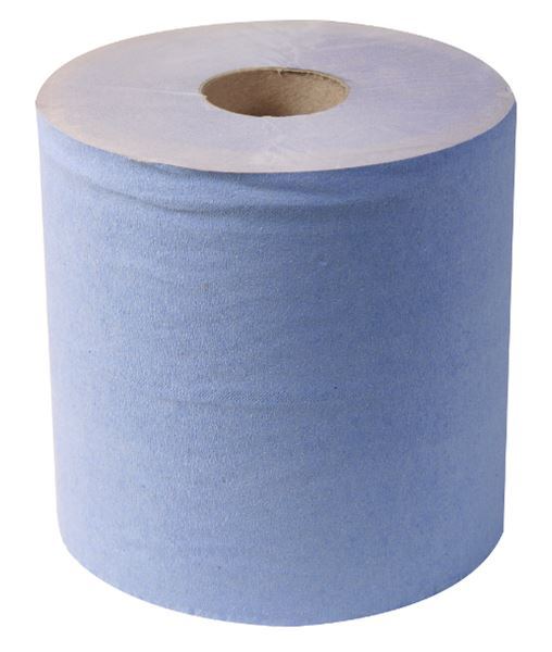 Picture of Standard 3 Ply Centre Feed Roll - Blue