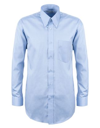 Picture of Kustom Kit Corporate Oxford Mens Long Sleeve Shirt