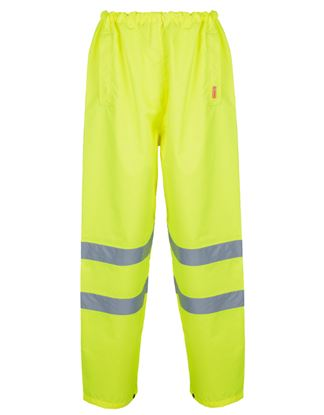 Picture of W/proof H/weight PVC Coated Trousers EN471 Class1