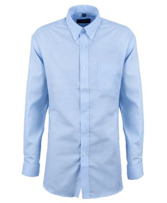 Picture of Russell Mens Long Sleeve Oxford Shirt