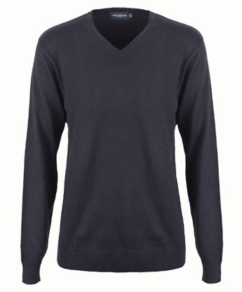 Picture of Mens V/Neck 50/50 Pullover