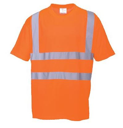 Picture of Polyester Sportech T-Shirt with Tape EN471 Class 2