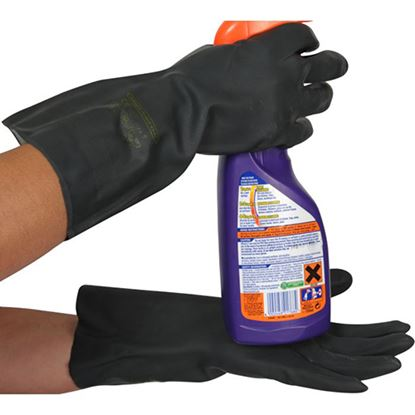 "Picture of HD Neoprene 13"" Rubber Gauntlet"