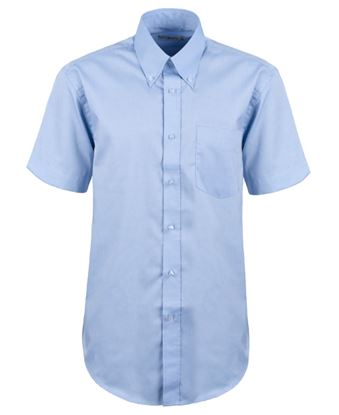 Picture of Kustom Kit Corporate Oxford Mens S/S Shirt