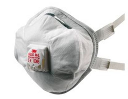 Picture of 3M Disposable P3 Toxic Dust/Mist Respirator - M/L