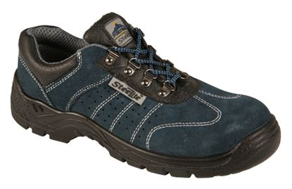 Picture of Suede Safety Trainer with Steel Midsole