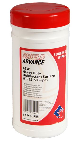 Picture of Heavy Duty Disinfectant Surface Wipes ASW