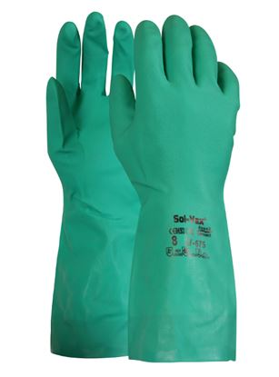 "Picture of Nitrile 13"" Chemical Resist.Glove EN374-3 (12/144)"