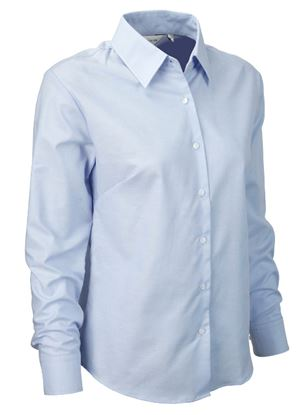 Picture of Russell Ladies Long Sleeve Oxford Shirt