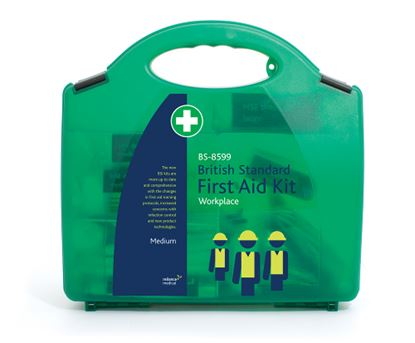 Picture of New BS-8599 British Standard Medium First Aid Kit