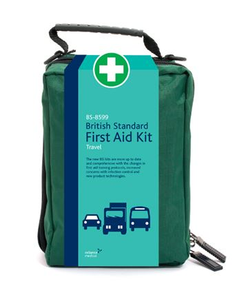 Picture of New BS-8599 British Standard Travel First Aid Kit