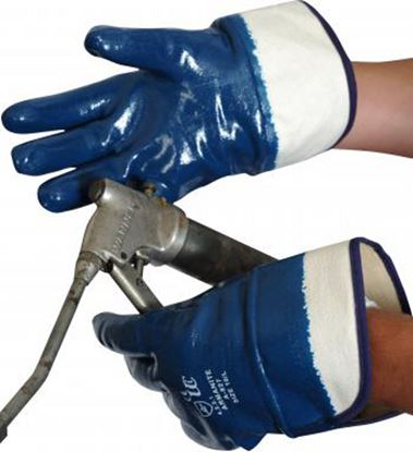 Picture of Heavyweight Nitrile Full Coat Safety Cuff 12/144