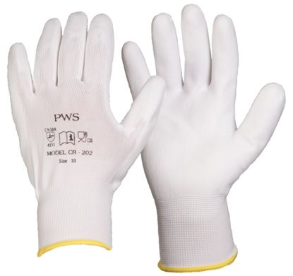 Picture of Polyurethane Palm Coated Insp Glove 10/300