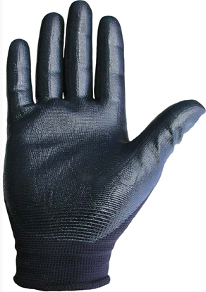 Picture of Nitrile Superior Palm Dipped Glove 10/120