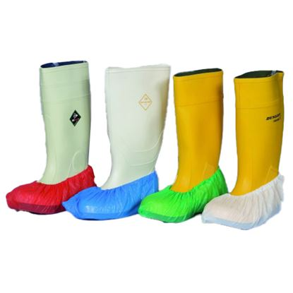 "Picture of PVC 16"" Disposable Overshoes"