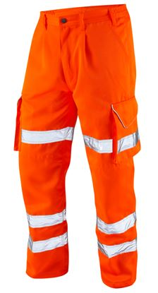Picture of Hi-Viz Polycotton Railtrack Trouser To GO/RT3279